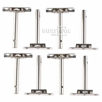8pcs Heavy Duty Tool Concealed Floating Hidden Shelf Support Brackets US Stock