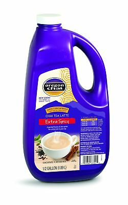 Oregon Chai Extra Spicy Original Chai Tea Latte Concentrate, 64 Ounce Jug