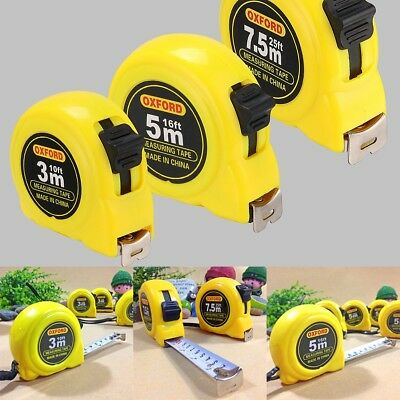 3M/5M/7.5M Tape Measure Professional Metric/Imperial Builder Measurer Measuring