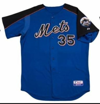NEW YORK METS - JERRY MANUEL (Coach) original game used batting practice Jersey