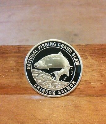 National Fishing Grand Slam-Florida Chinook Salmon Coin