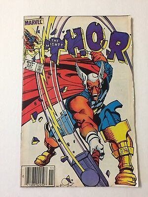 Vintage The Mighty Thor #337  1st App Beta Ray Bill Comic