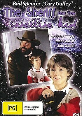 THE SHERIFF AND THE SATELLITE KID - Bud Spencer -  ALL REGION DVD