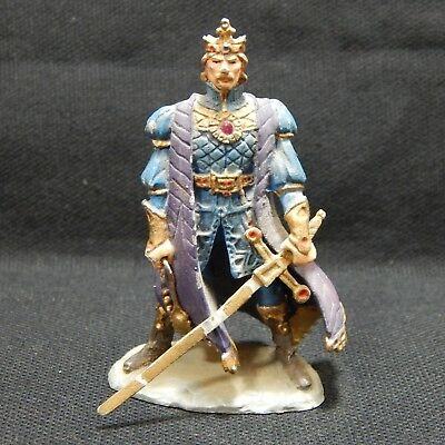 1989 Franklin Mint Xanth Painted Pewter Figurine - King Trent