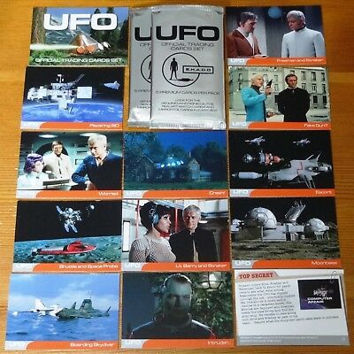 Gerry Anderson's UFO Cult 1970's UK TV Complete 54 Base Set by Unstoppable 2016
