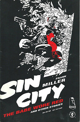 Eo Us 1994 One Shot Frank Miller Sin City : The Babe Wore Red And Other Stories
