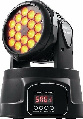 EUROLITE LED TMH-7 Moving-Head Wash - B-WARE, wie neu, TOP, TRI-COLOR, UVP 213€