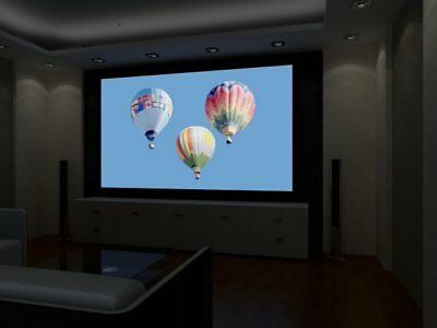 """LARGZE 165"""" High Contrast GRAY PROJECTOR projection SCREEN MATERIAL 84"""" X 150"""""""
