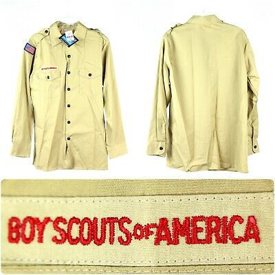 Boy Scouts Of America Uniform Youth XL Vintage USA - Fast Ship! #507