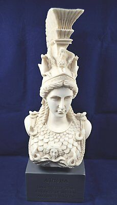 Athena sculpture statue Minerva ancient Greek Goddess museum reproduction bust