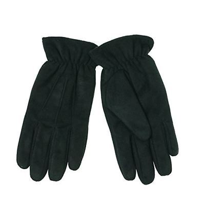 Men's Isotoner Smartouch Black Ultra Plush Soft Winter Gloves M, L or XL New $55