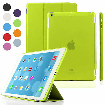 Smart Magnetic Stand Leather Case Hard Back Cover For APPLE iPad 4/3/2 Air Mini