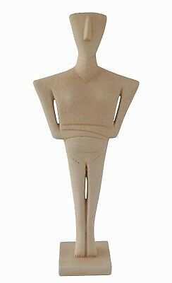Cycladic Idol Ancient Greek Art Museum Replica grand statue
