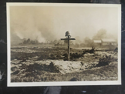1940 Krakow Poland Germany GG Soldiers Grave RPPC Postcard cover to Hamburg