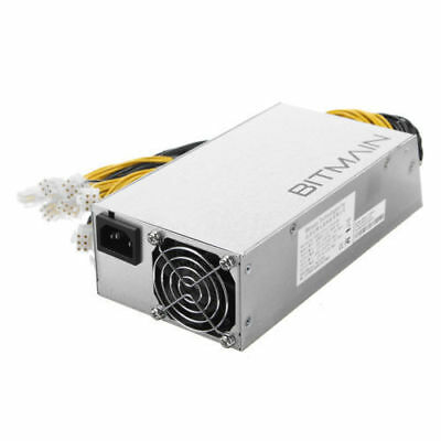 Original AntMiner APW3++ PSU 1600W Power Fit for Antminer L3  D3 S9 S7 US Stock