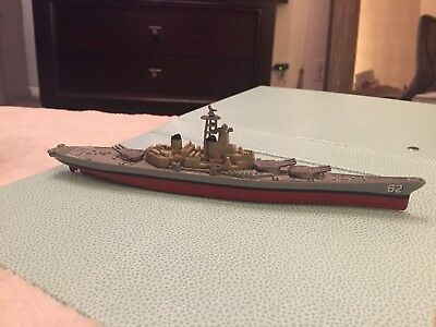 """9"""" Plastic Die Cast toy naval vessel ship made by Motor MAX 2002 #62 #76744"""