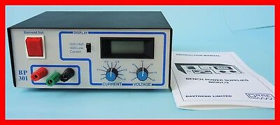 DAVTREND LTD BP 301 Power Supply 0-30 Volts - NEW in BOX -- 120 Volts, 220 Volts