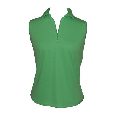 BNWT, Ladies Sleeveless Golf Shirt in Green, FREE SHIPPING!