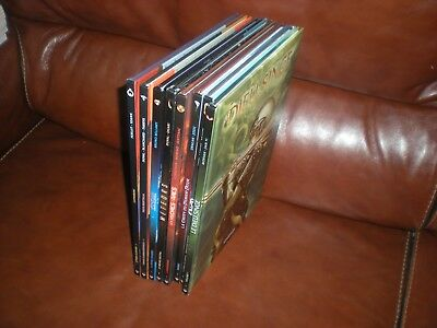 Lot De 8 Albums Grands Formats Delcourt Science Fiction En Editions Originales