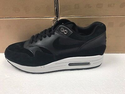 info for 9946e 65d55 New Mens Nike Air Max 1 Premium Chrome Skulls Sneakers 875844 001-Shoes-Size