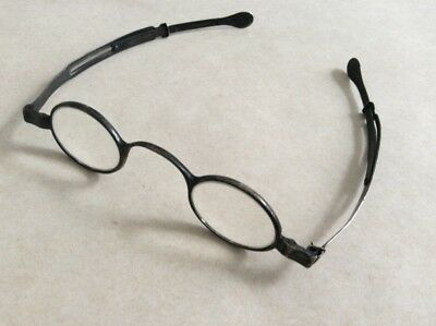 1790s Georgian Sterling Silver Eyeglasses /Hallmarked Birmingham 925 Spectacles