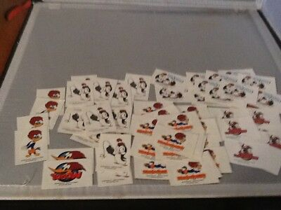 1999 Woody Woodpecker And Chilly Willy Tattoos