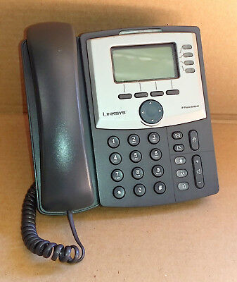 Cisco Linksys SPA942 VOIP SIP 4-line IP Display Telephone Phone with Stand