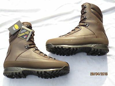 Karrimor, Boots Combat Cold Wet Weather, Brown Male, MTP, Goretex, Size 9W (43