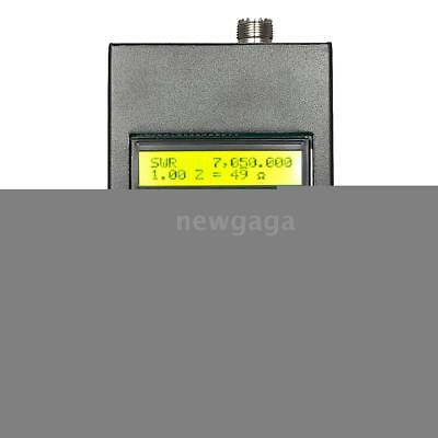 SARK100 1-60MHz HF ANT SWR Antenna Analyzer Meter Standing Wave Tester NG F5P3
