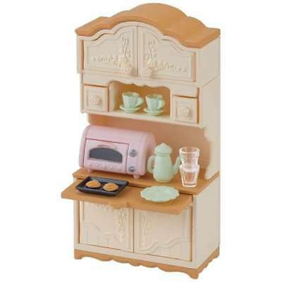 Sylvanian Families Calico Critters Furniture Kitchin Cupboard Epoch Japan Ka-419