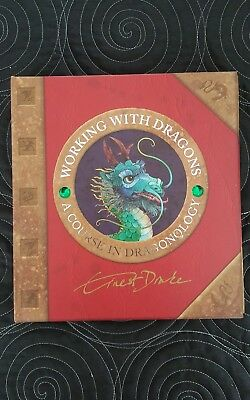 Hardback Working with Dragons. A Course in Dragonology. Immaculate.