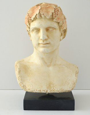 Dionysos bust - Dionysus God of wine ritual madness and ecstasy