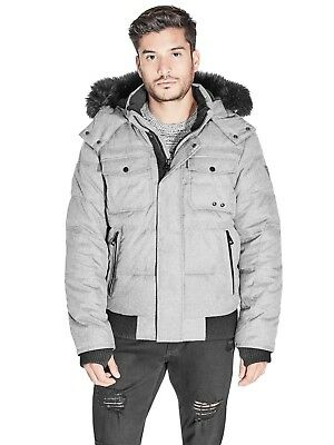 GUESS Factory Men's Duke Puffer Jacket
