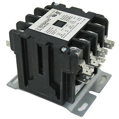 40 AMP 120 VAC 4 Pole Definite Purpose Contactor HVAC Lighting 50A 30A 25A NEMA