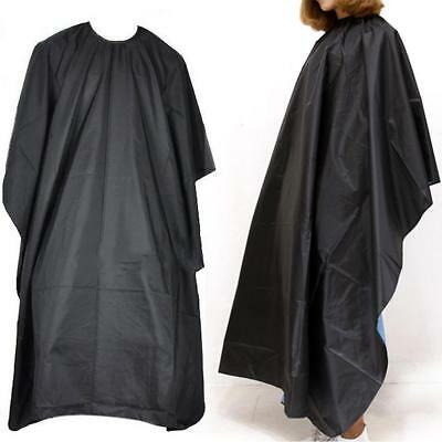 Pro Adult Waterproof Salon Hair Cut Hairdressing Barber Cape Gown Cloth Large