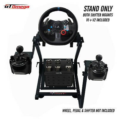 GT Omega Steering Wheel stand PRO For Logitech G29 Racing wheel & shifter V2