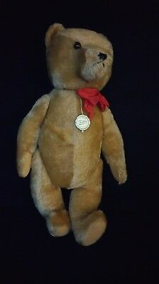 """Hermann Teddy Original Bear Mohair 18"""" Jointed Made in West Germany c1980"""
