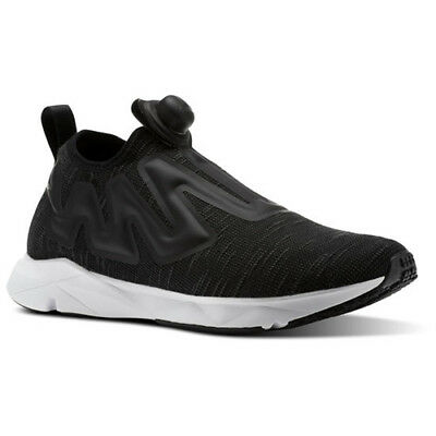149b3de1a0c Reebok Men CN1196 Pump Supreme Running Shoes black white grey sneakers