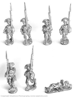Old Glory AWI 25mm British Line Infantry Marching/Attacking Pack MINT