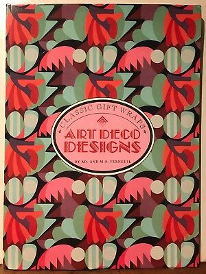 Retro - Art Deco Designs: Classic Gift Wraps By AD. and M.P. Verneuil (ISBN 10: