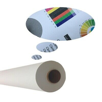 """54""""x100ft/roll,Self-adhesive Inkjet Fabric Wallpaper,Wallcovering Wall Decals"""