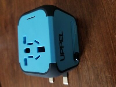 Travel Adapter Power Converters Uppel Dual USB All-in-one Worldwide Travel For