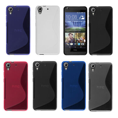 TPU Silicone Case Skin Cover For HTC Desire 530 630 728 820