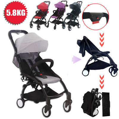 MINI Baby Stroller Foldable Lightweight Buggy  Newborn Travel Carry Plane Pram