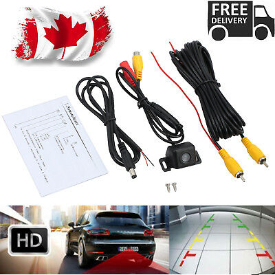 HD Car Rear View Cam Night Vision Reverse Parking Backup Camera Reversing Kit CA