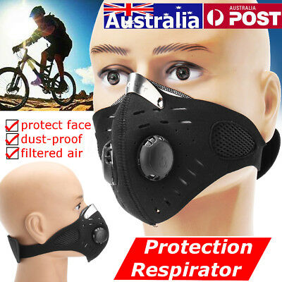 AU Dust Proof Anti Pollen Allergy Gas Half Face Protection Respirator Mask Haze