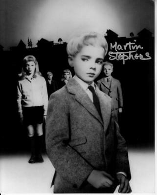 Entertainment Memorabilia Martin Stephens Village Of The Damned Autographed 8x10 Hand Signed Cult Classic Rich And Magnificent