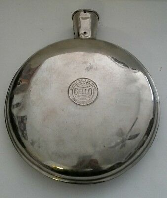 Vintage Cello Hot Water Bottle Bed Warmer A.S. Campbell Co. Boston  Pat.1912
