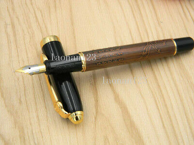 metal new Emboss Eagle Poetry calligraphy gift Fountain Pen