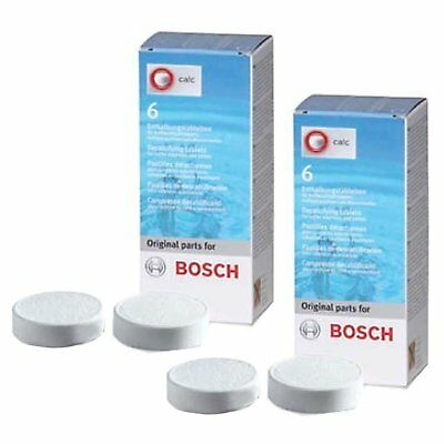 Genuine Bosch Tassimo Siemens Gaggenau Neff Coffee Machine Descaling Tablets